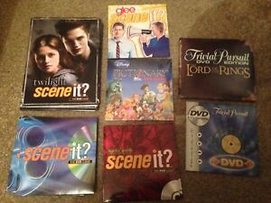 BOARD-GAME-DVD-Only-Spares-Authentic-Replacement-Trivia-Movie-Scene-It-Disc-New