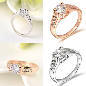 Wedding Gift For Friend Female Malaysia : -Girl-Cheap-New-Crystal-9K-Gold-Plated-Rhinestone-Wedding-Ring-Gift ...