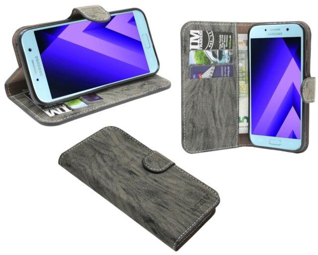 Book-Style Case Case Anthracite for Samsung Galaxy A3 2017 (A320f) @ Cofi