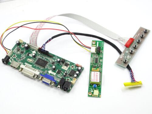 Audio New LCD Controller Board lvds Kit For  LTN154X3-L0D HDMI DVI VGA