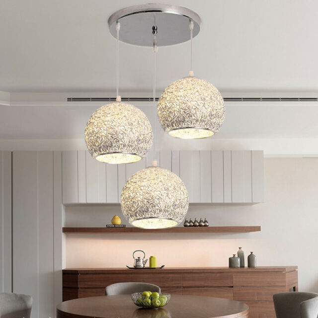 1 Set Modern Chandelier Lighting Kitchen Ceiling Lights Bar Sliver Pendant Light & 1 Set Modern Chandelier Lighting Kitchen Ceiling Lights Bar Sliver ...