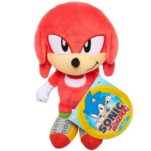Knuckles From Sonic The Hedgehog Basic Plush 19cm Soft Cuddle Toy Stuffed Teddy