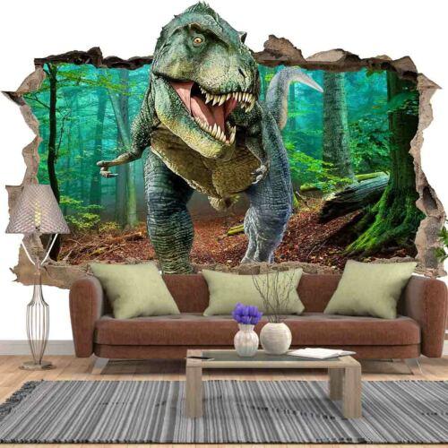 Vlies Fototapeten Wandtapet Wandbilder 3D-Effekt Dinosaurier Wandloch 11634