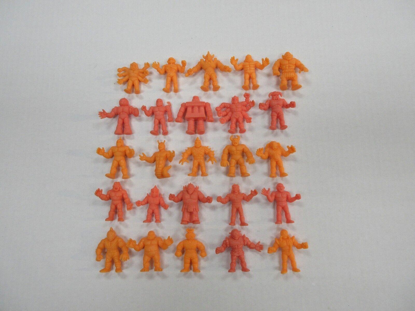 1980 ist jahrgang mattel m.u.s.c.l.e. muskel - männer 25 abbildung Orange menge