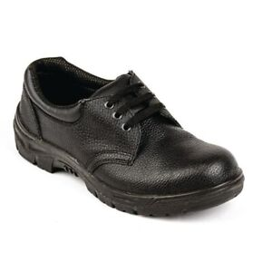 Slipbuster-Unisex-Safety-Shoes-Uniform-Work-Black-Anti-Static-Sole-SIZE-42-8UK