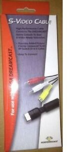 NEW-S-Video-Cable-Adapter-Cord-for-Sega-Dreamcast-by-Performance-In-BOX-S-Video