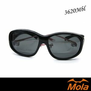 a1c91d5c1f Image is loading Sunglasses-Men-Women-Shiny-Black-Polarized-Cycling-Driving-