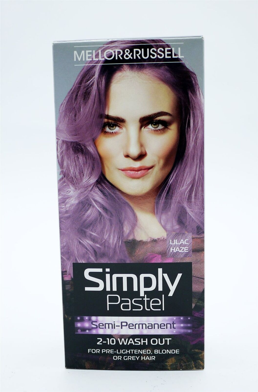 MELLOR & RUSSELL SIMPLY PASTEL HAIR COLOUR BLUE GREEN GREY LILAC PINK BLONDE