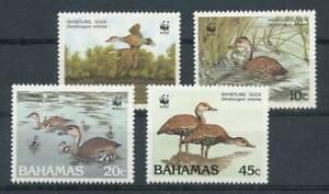 550862) Bahamas Nº 672-5 ** Oiseaux-afficher Le Titre D'origine Pour ExpéDition Rapide