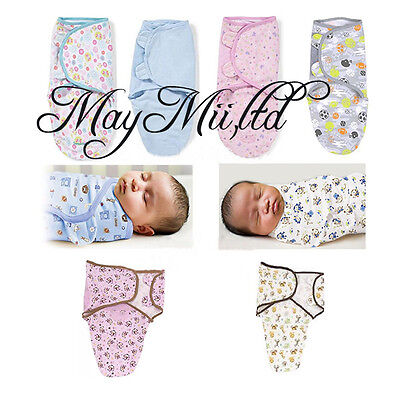 100% Cotton Brand new Baby Infant Swaddle Wrap Swaddling Blanket 0-3 Months