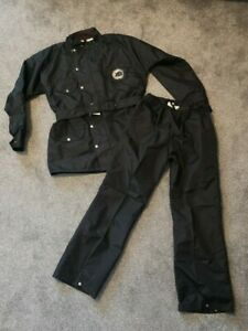 Rare-Vintage-Phil-Read-Motorcycle-Waterproofs-Jacket-and-Trousers-Size-Large
