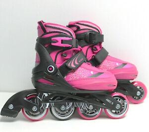 Gelegenheit-Inline-Skates-PINK-GIRL-Maedchen-5in1-verstellbar-29-33-9467