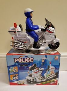 Kids-Bump-amp-Go-Police-Motor-Bike-Battery-Operated-Toy-Great-Gift-for-Boys-Girls