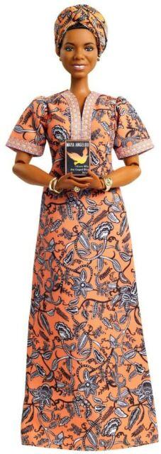 Maya Angelou Barbie Doll Inspiring Women Signature Series * Rare Collector's Wow