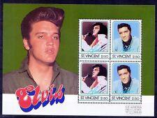 Elvis Presley, Music, Singer, St. Vincent MNH SS