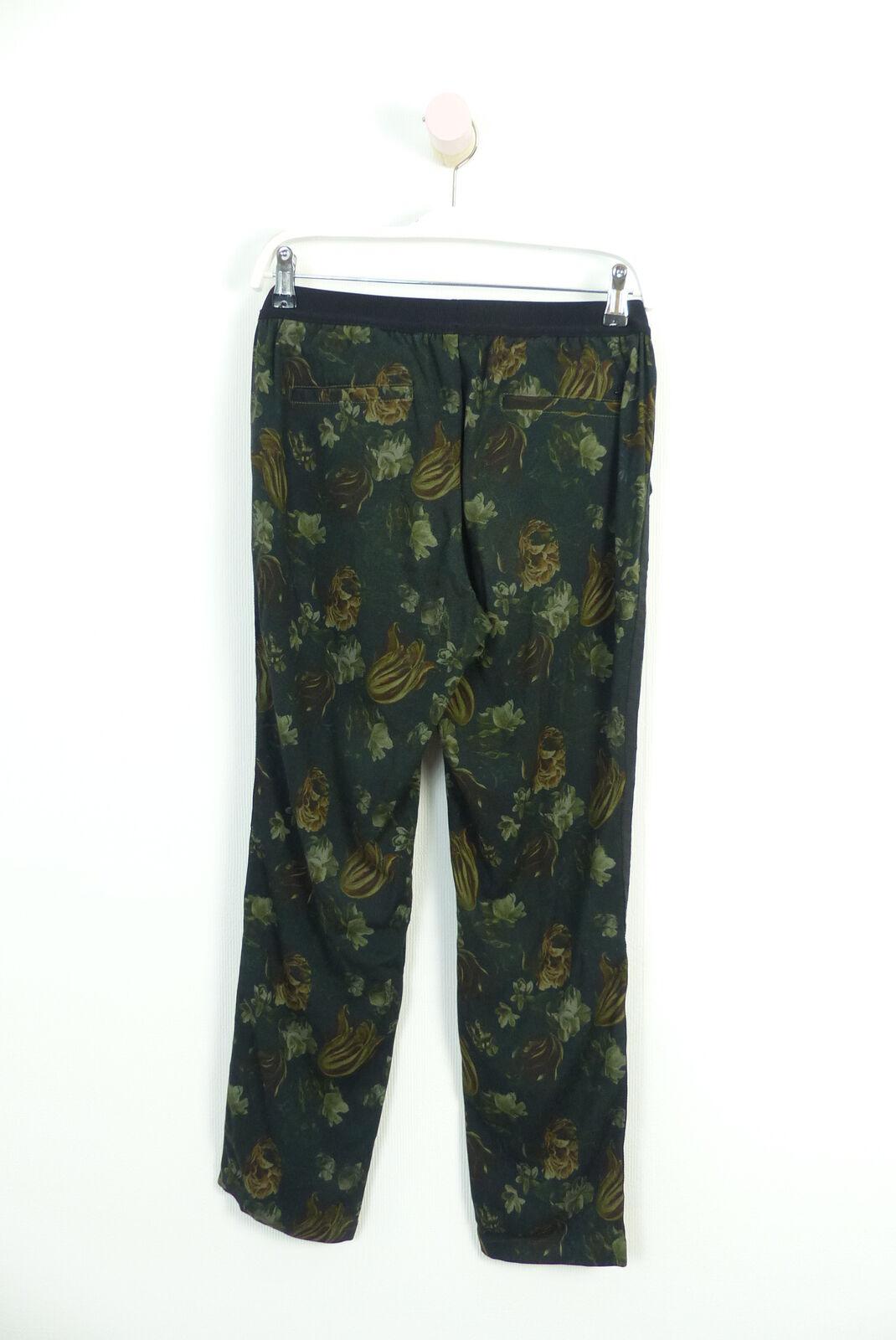 Mason'S PANTALONI PANTS Harem Harem Harem Pantaloni geblümt PANTS multicolore Tg. IT 40 de 34 (a181) bcc301