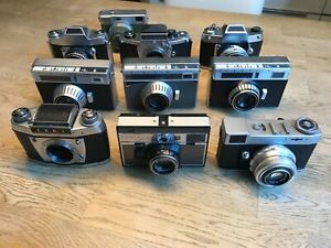 Exa,Exakta,Werra,Prakti, Pentacon,Welta, Konvolut von 10 Kameras