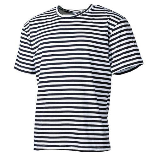 Russisches Marine T-Shirt Hemd Streifen Halbarm Kurzarm Russland 100/% Baumwolle
