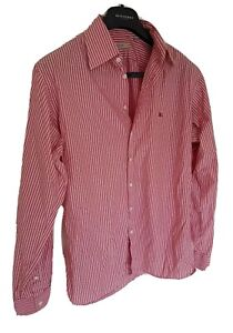 Mens-chic-LONDON-by-BURBERRY-long-sleeve-shirt-size-large-RRP-175