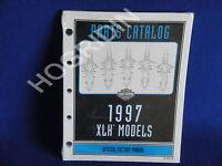 1997 Harley Davidson Sportster Xlh Factory Parts Catalog Manual