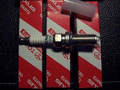 Genuine Toyota Avensis Spark Plugs Denso Set of 4 Part  No 90919-01253 SC20HR11