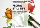 Still Life Flowers: Postcard Colouring Book by Pepin Van Roojen (Hardback, 2014)