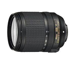 Zoomobjektiv AF-S DX VR 18-140 für D7500 D7200 D5600 D5300 D3400 u.a. NEUWARE