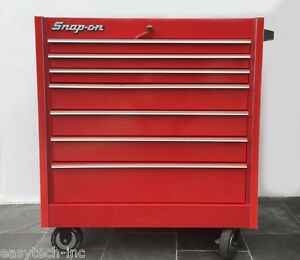 Snap On Toolbox Red Roll Cab Kr657b Bottom Tool Box 7