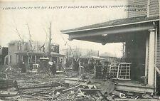 19th Avenue & Locust Street, Where Ruin Is Complete, Omaha NE Tornado 1913