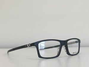 73a543e5fe Details about 49 Oakley OX8050-0153 Pitchman Eyeglasses Satin Black Frame  53-18-140 With Case
