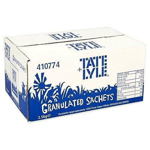 Tate & Lyle White Sugar Sachets 1000 Per Pack White Sugar Sachets For Tea Coffee
