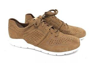 bef7f4d83c5 Details about Ugg Australia Tye Chestnut Women's Fashion Sneaker 1016674  Lace Up Shoe Nubuck