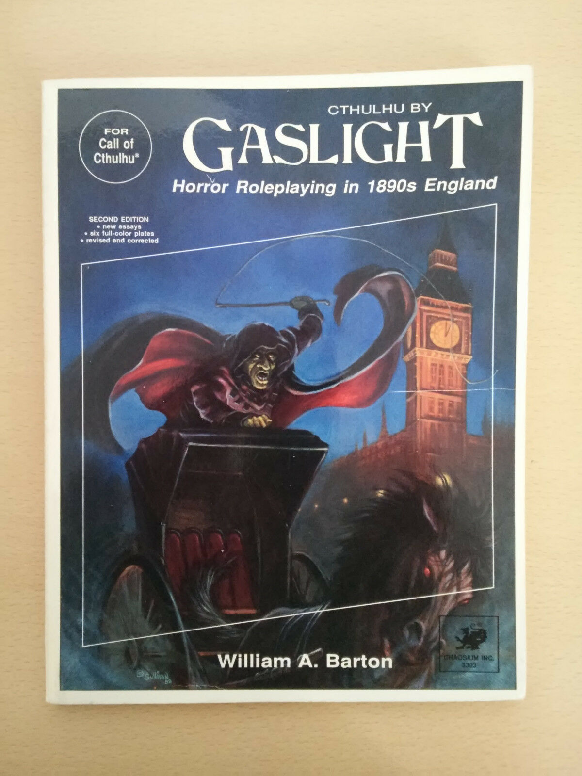 Cthulhu by Gaslight; 2nd. 2nd. 2nd. Ed.; 1988 Chaosium 64aac7
