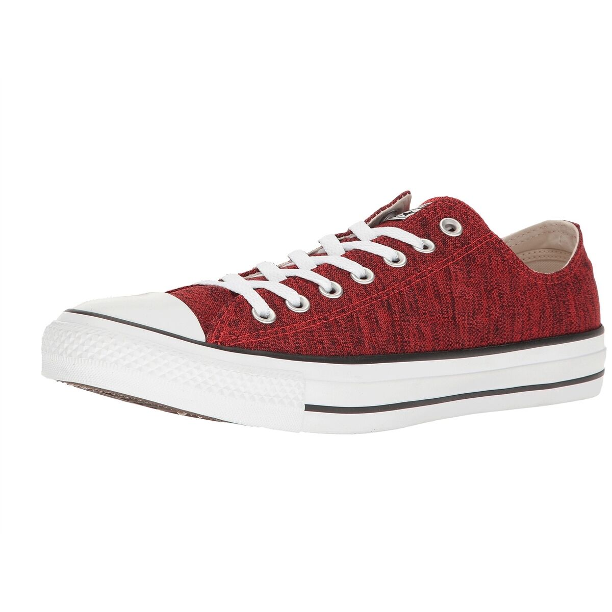 Converse All Star Sneakers Chuck Taylor Schuhes ROT HeatheROT Knit Niedrig Top Sneakers Star NEW 1d4ca3