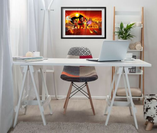 The Incredibles 2 Movie Poster Alternative Art High Quality Prints