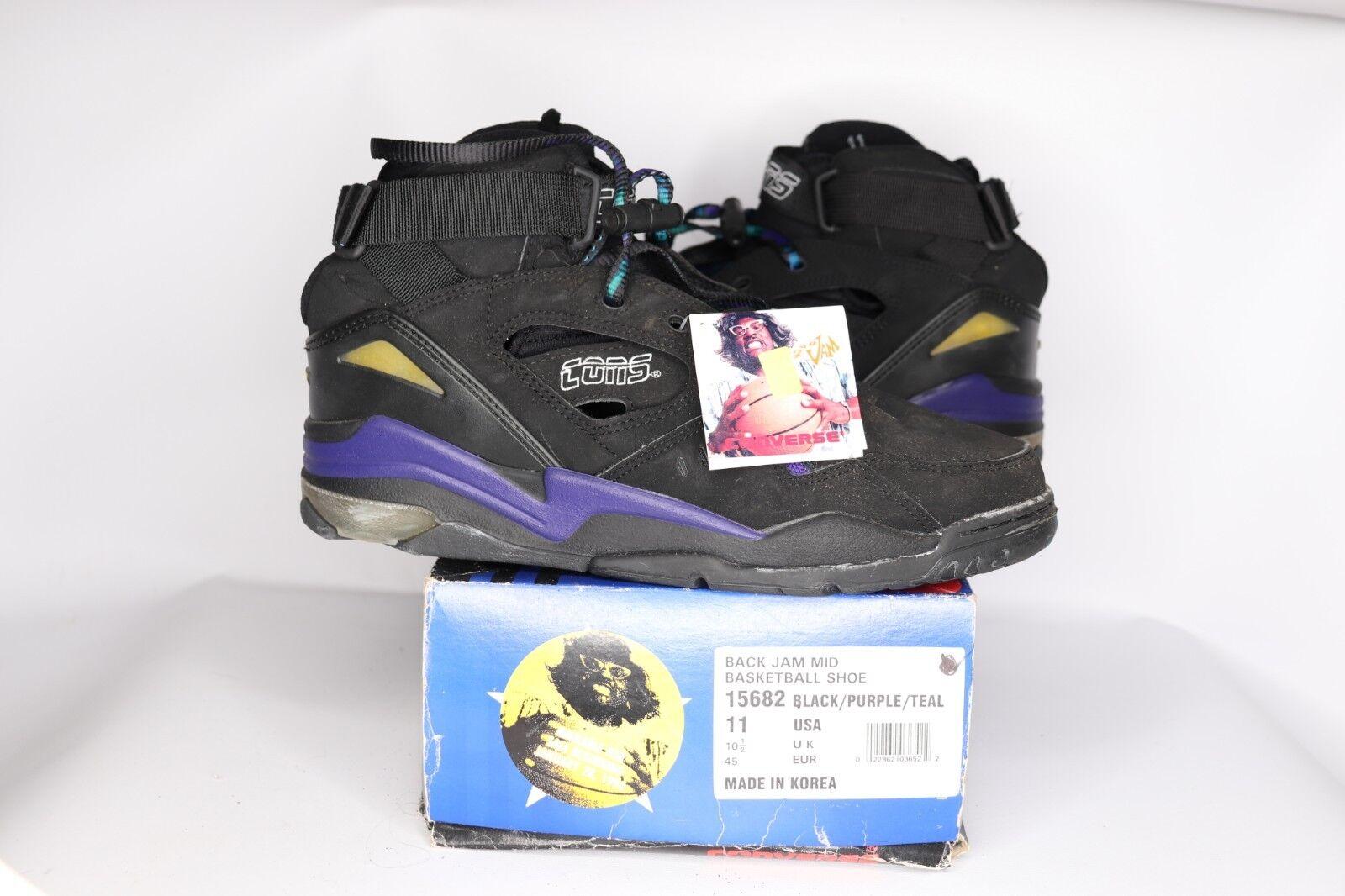 marchio in liquidazione Vintage 90s New Converse Back Back Back Jam Mid Larry Johnson GrandMama scarpe Uomo Dimensione 11  risparmia il 50% -75% di sconto