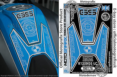 BMW R1200GS LC 2013 2014 2015 2016 Motorcycle Tank Pad Motografix Gel Protector