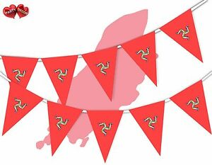 Isle-of-Man-Full-Flag-Patriotic-Themed-Bunting-Banner-15-Triangle-flags