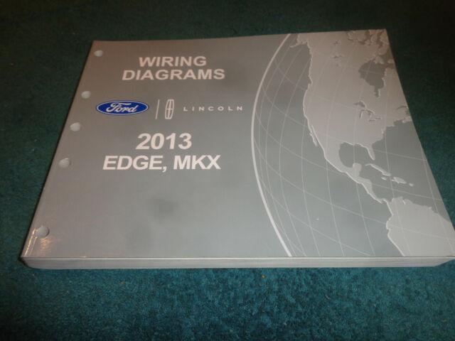2013 Ford Edge    Lincoln Mkx Wiring Diagram Shop Manual