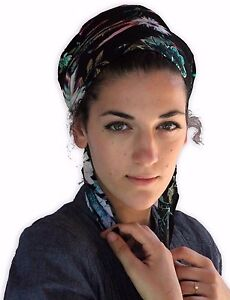 Image Is Loading Tichel Scarves Head Wrap Hair Covering Jewish Headcovering