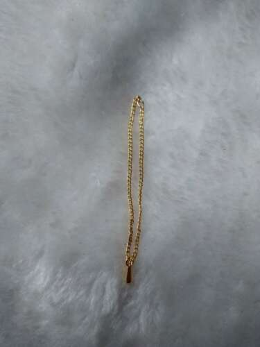 """Custom 1:6 Scale Golden Water Drops Necklace  For 12/"""" Female PH UD Body Doll"""