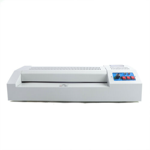 330mm Thermal Laminator Machine Hot/&Cold Laminating Equipment 4 Roller A3 US
