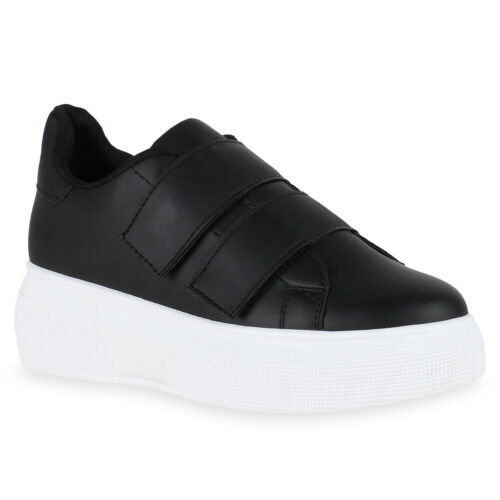 Damen Plateau Sneaker Turnschuhe Wedges Keilsneaker Plateauschuhe 826026 Schuhe