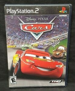 Disney-Cars-Pixar-Racing-PS2-Playstation-2-Game-Tested-Working-Complete