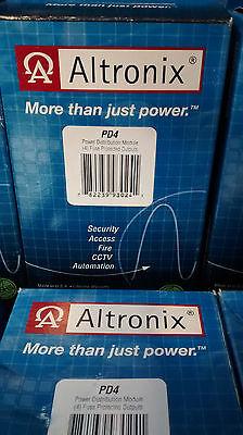 Altronix PD4 Four Fused Outputs Power Distribution Module CTOKT