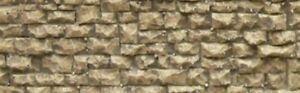 CHOOCH Flexible Random Stone Wall Self Adhesive Model RR N, HO or Diorama #8250