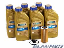 Audi VW Oil Change Kit – 2013-17 w/ 4 Cylinder 1.8T & 2.0T Engines – 502 00 5W40