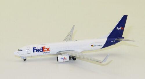 Gemini Jets GJFDX1854 FedEx Express Boeing 737-800BCF G-NPTD Diecast 1//400 Model
