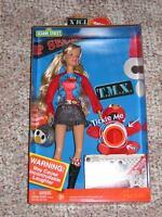Barbie Loves T.M.X. TMX Tickle Me Elmo Mattel Doll Toys