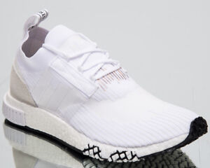 Details about adidas Originals NMD Racer Primeknit New Men's Low Lifestyle Shoes White B37639